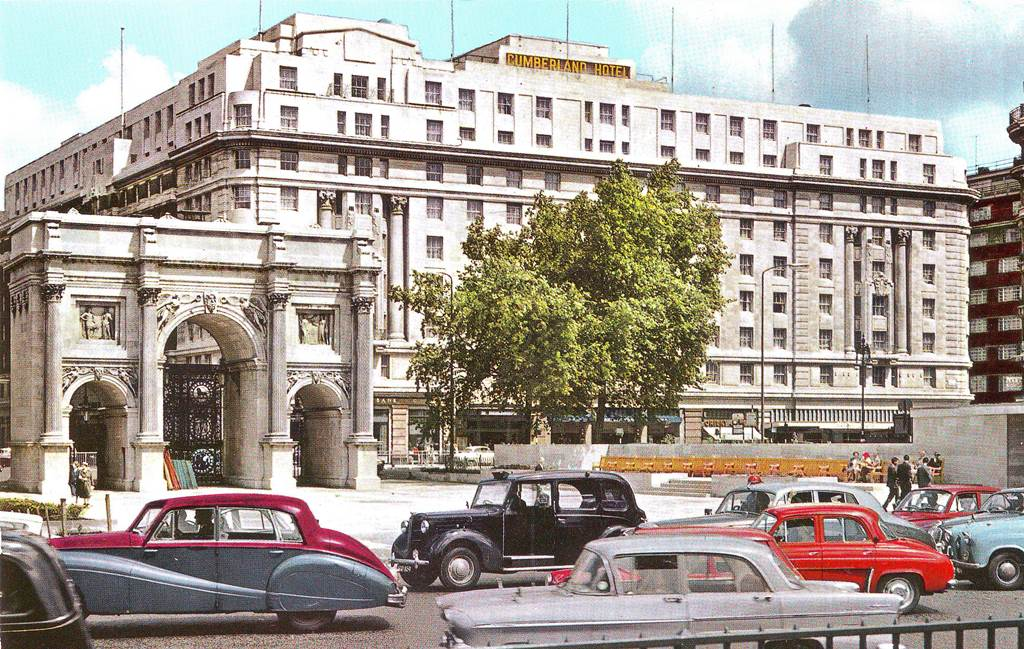 A Dauphine at Marble Arch.