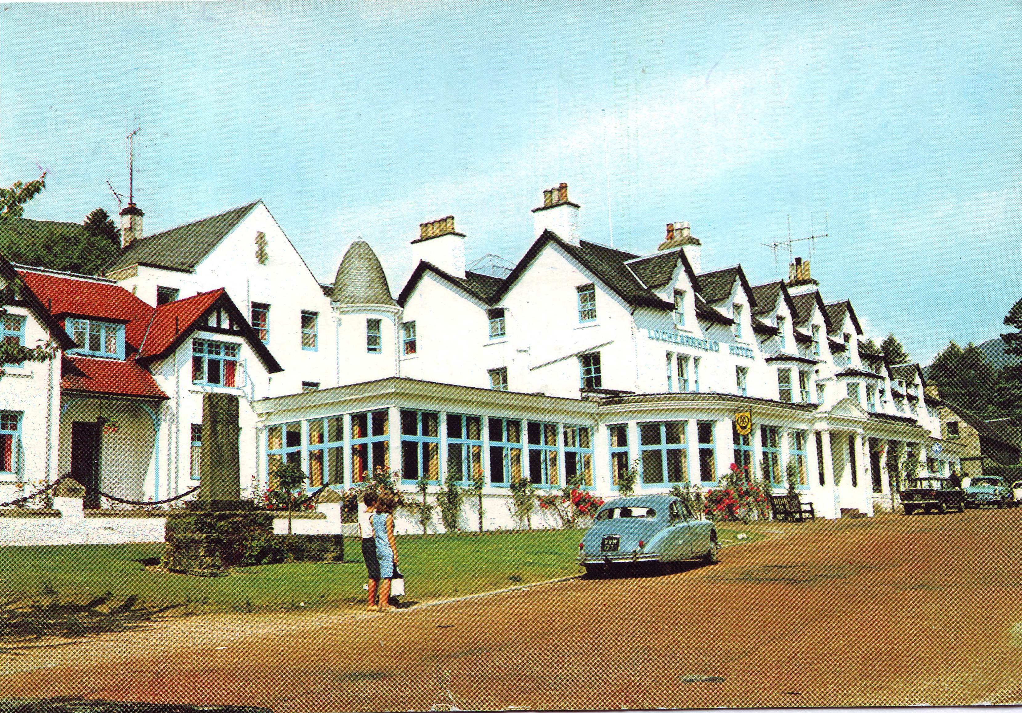 Fifties Jag in Sixties Scotland