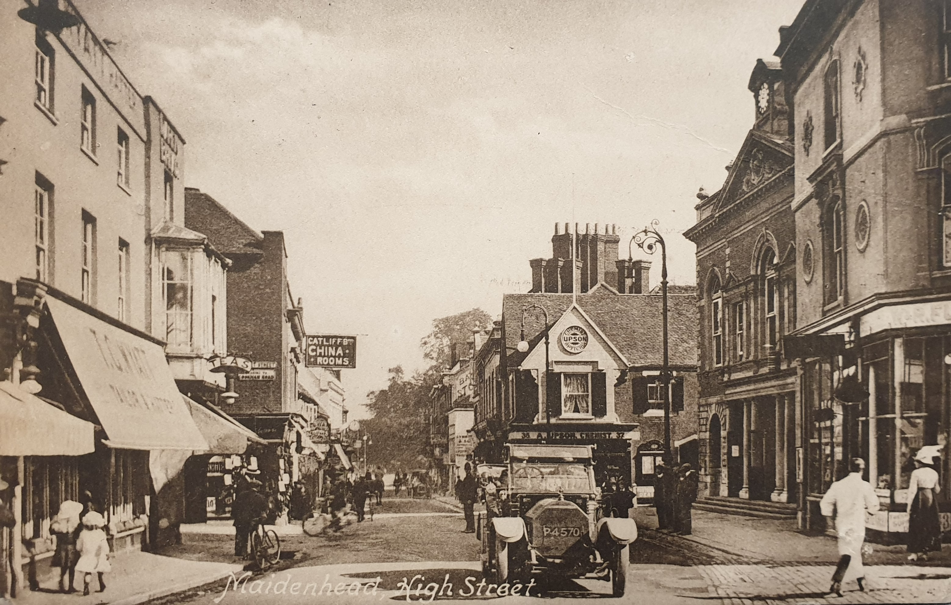 Maidenhead High Street 1910